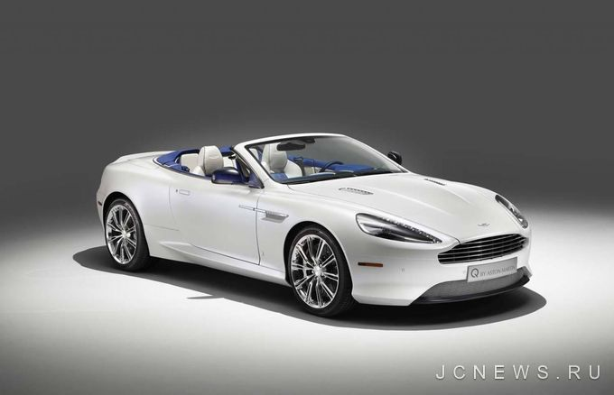 Aston Martin представил модель DB9 Volante Morning Frost